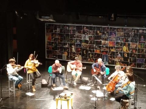 180 asistentes al concierto de Arragoa en el Espaloia