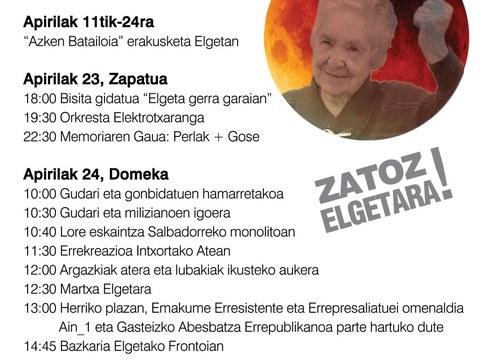 24 de abril, día de la resistencia