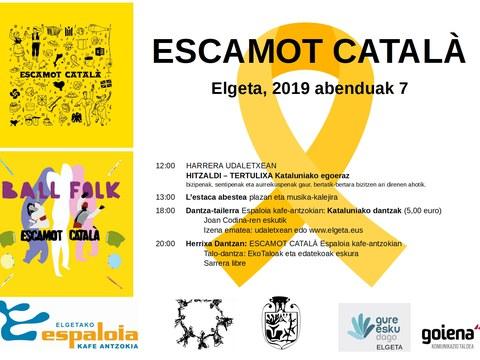 7 de diciembre: Escamot català en Elgeta