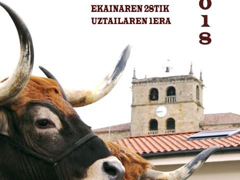 Abierto el plazo para presentar propuestas en el concurso de carteles de las fiestas de Elgeta