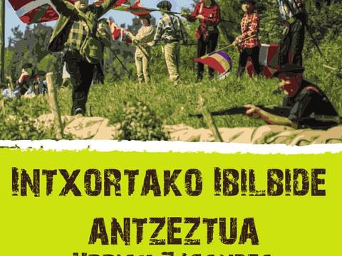 Actos por el 82 aniversario de la resistencia de Intxorta