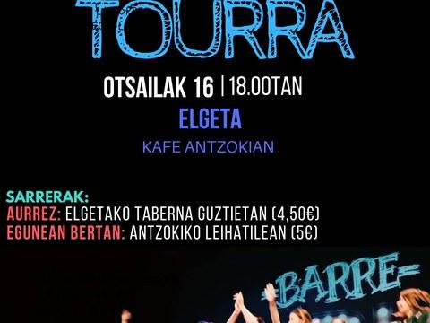 Actuación de Barrexerka el 16 de febrero