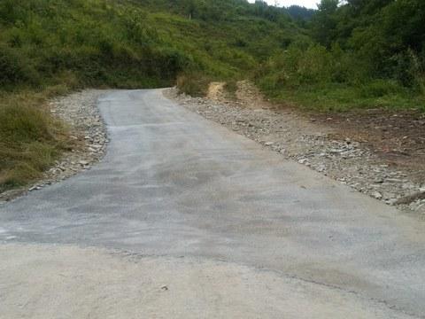Concluidas las obras para mejorar el camino al caserío Kortasakon (Txulokua)
