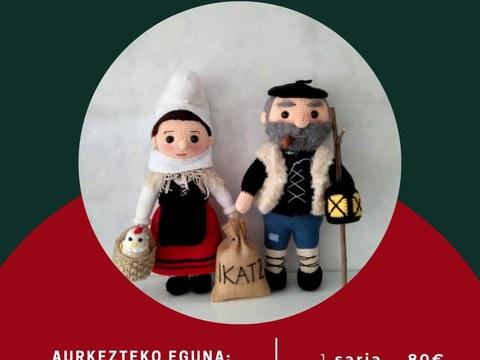 Concurso de muñecos de de Olentzero y Mari Domingi