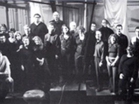 El coro Sustraien Ahotsa en el Espaloia