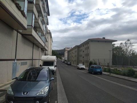 El lunes pintaremos los aparcamientos de las calles Torrealdea y Domingo Iturbe