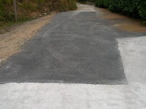 Hemos reparado el camino que lleva al caserío San Antonio