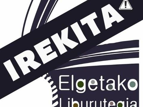 La biblioteca de Elgeta abrirá sus puertas con el horario habitual