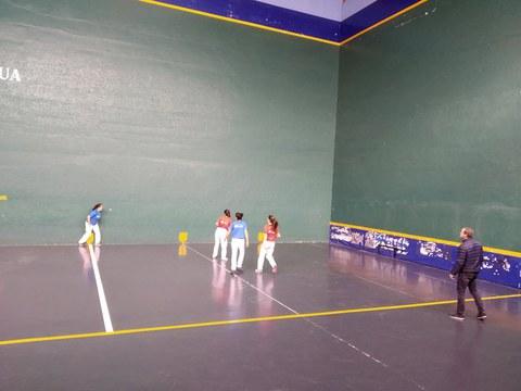 Las finales del campeonato de pelota se disputaron el 31 de diciembre