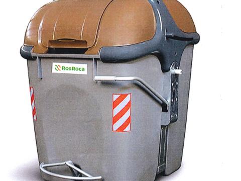 Los contenedores del rechazo y el orgánico dispondrán de pedales