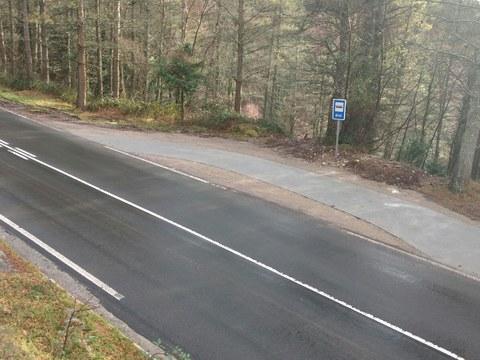Se han mejorado el acceso al barrio de Goimendi y la parada del taxibus