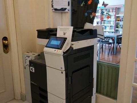 Ya está en marcha la fotocopiadora pública de autoservicio