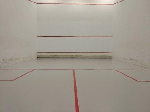 Ya se puede utilizar la pista de squash