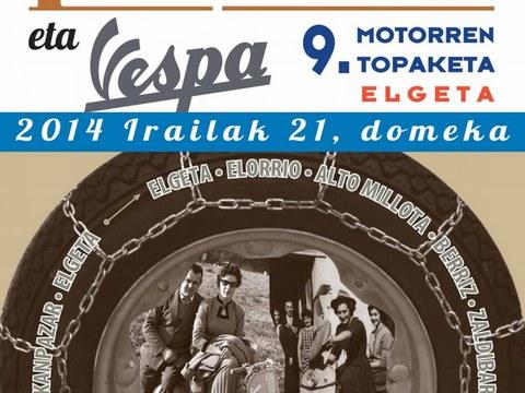 Guztia prest Vespa eta Lambretta topaketarako